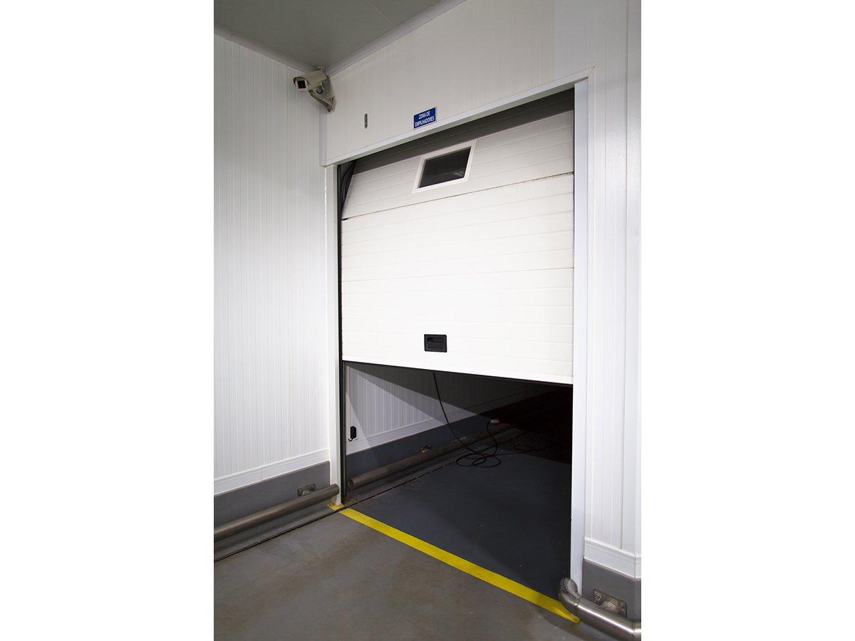 Puerta refrigeración blanca