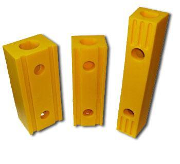 Topes poliuretano amarillo